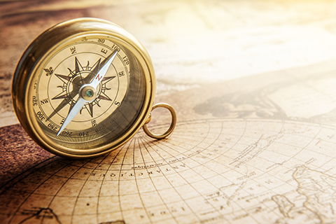 compass map small
